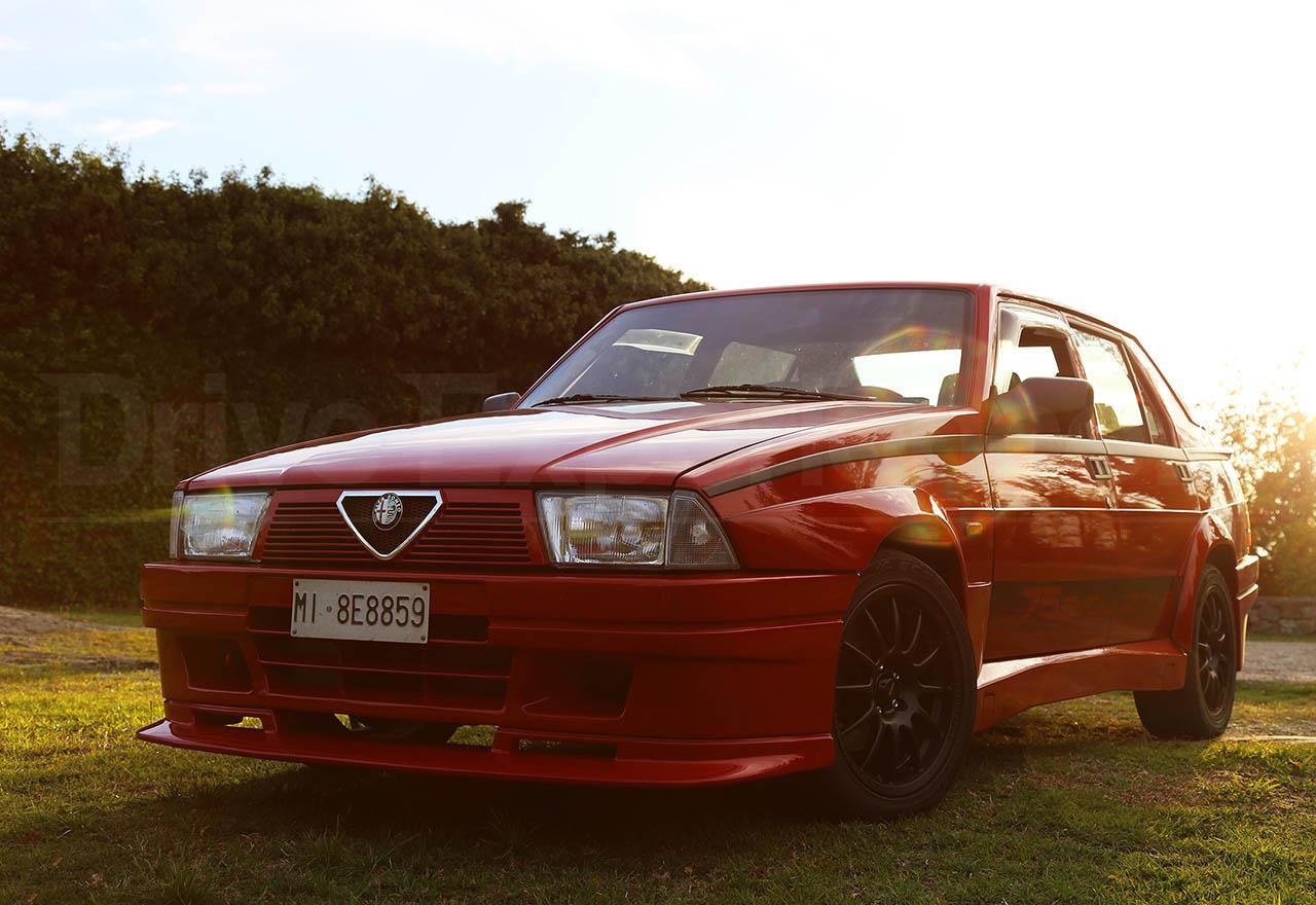 Poster Alfa Romeo 75 Turbo Evoluzione Davide Cironi