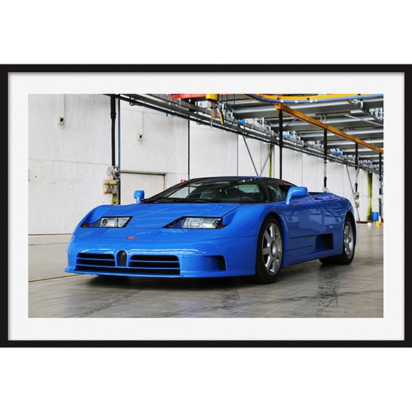 Bugatti Eb110 Blu