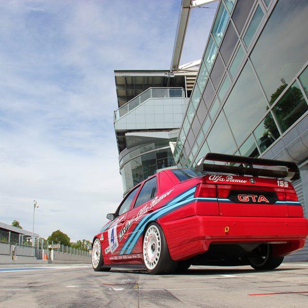 Poster Alfa Romeo 155 GTA