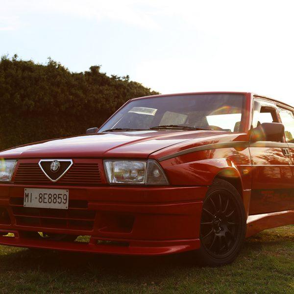Poster Alfa Romeo 75 Turbo Evoluzione