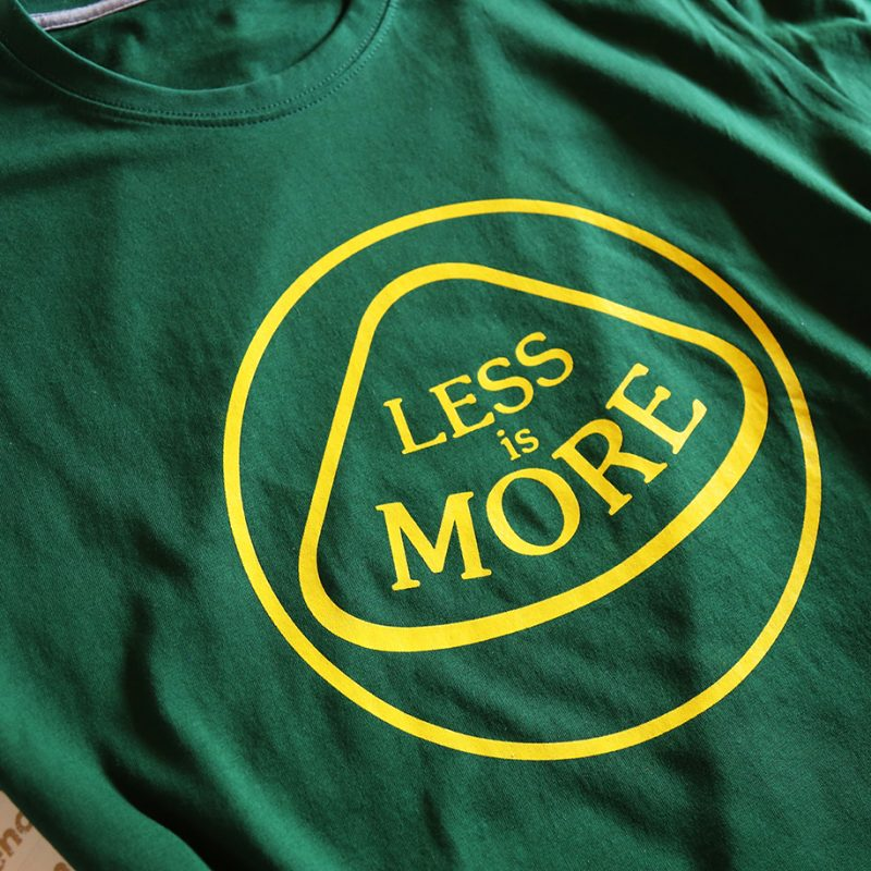Less is more1