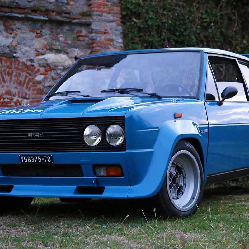 Poster Fiat 131 Abarth Front view