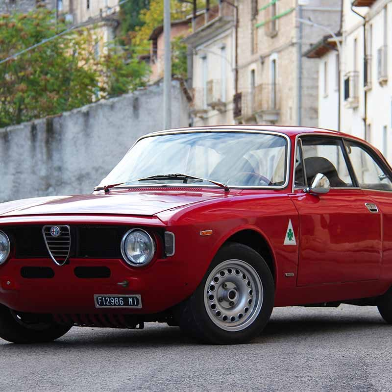 poster Alfa Romeo Giulia Gt