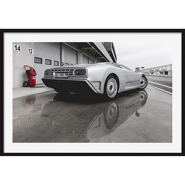 Bugatti Eb110 Rear view