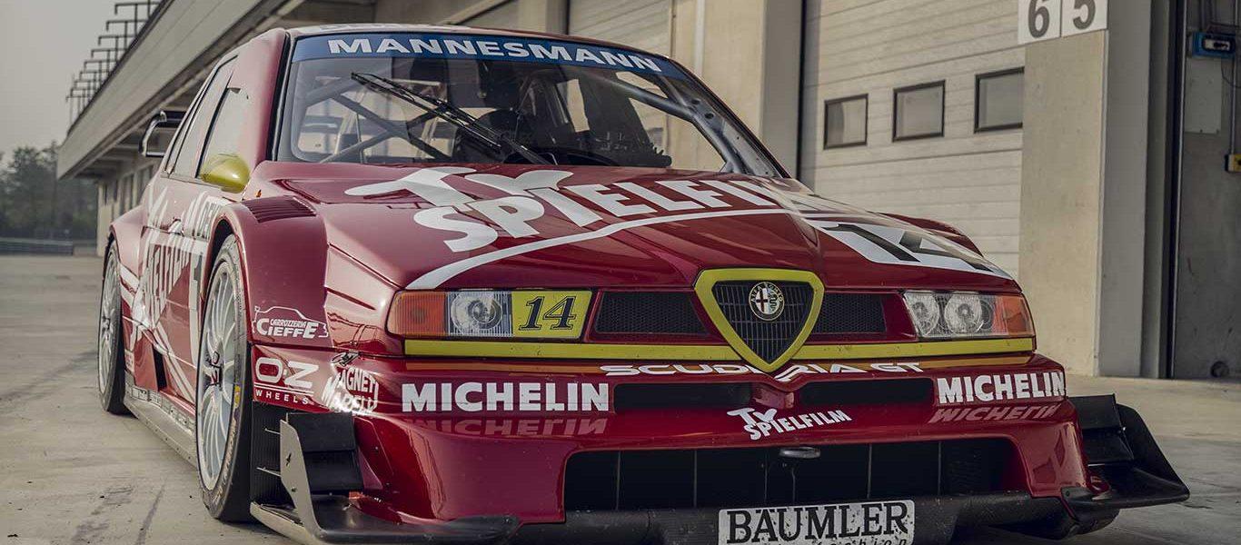 VIDEO TEST: Alfa Romeo 155 DTM (ITC 1996)