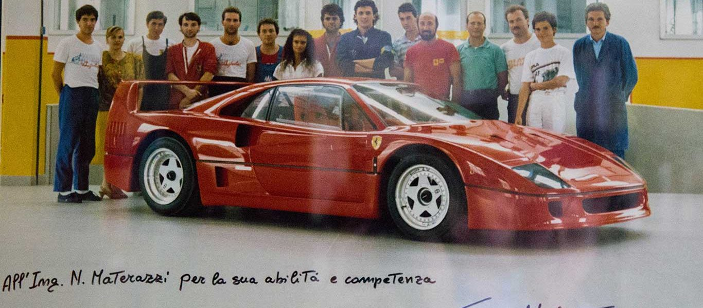 Materazzi Racconta: Come nacque la F40 dopo 288 e GTO Evoluzione
