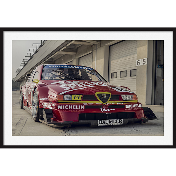 Poster Alfa Romeo 155 DTM Front View
