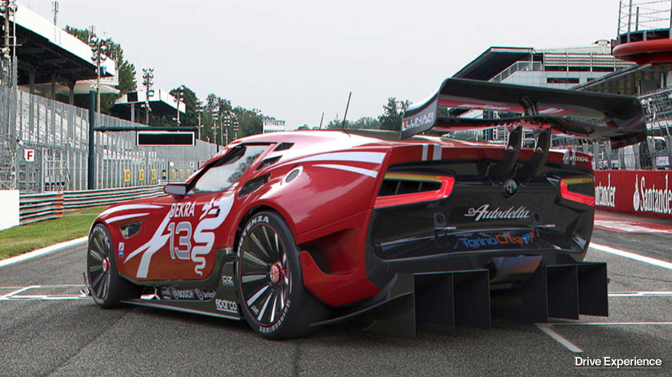 Alfa montreal reinterpretazione racing della mitica v8 for Garage alfa romeo luxembourg