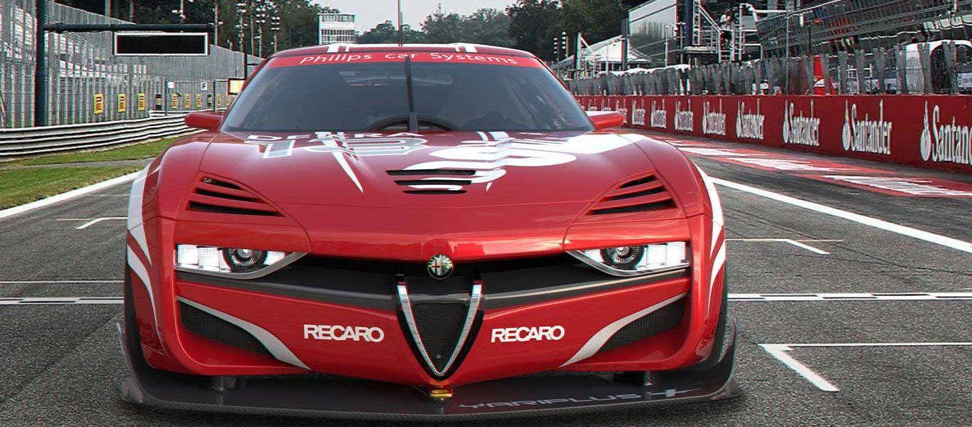 Alfa Romeo Montreal – Reinterpretazione Racing della mitica coupé V8