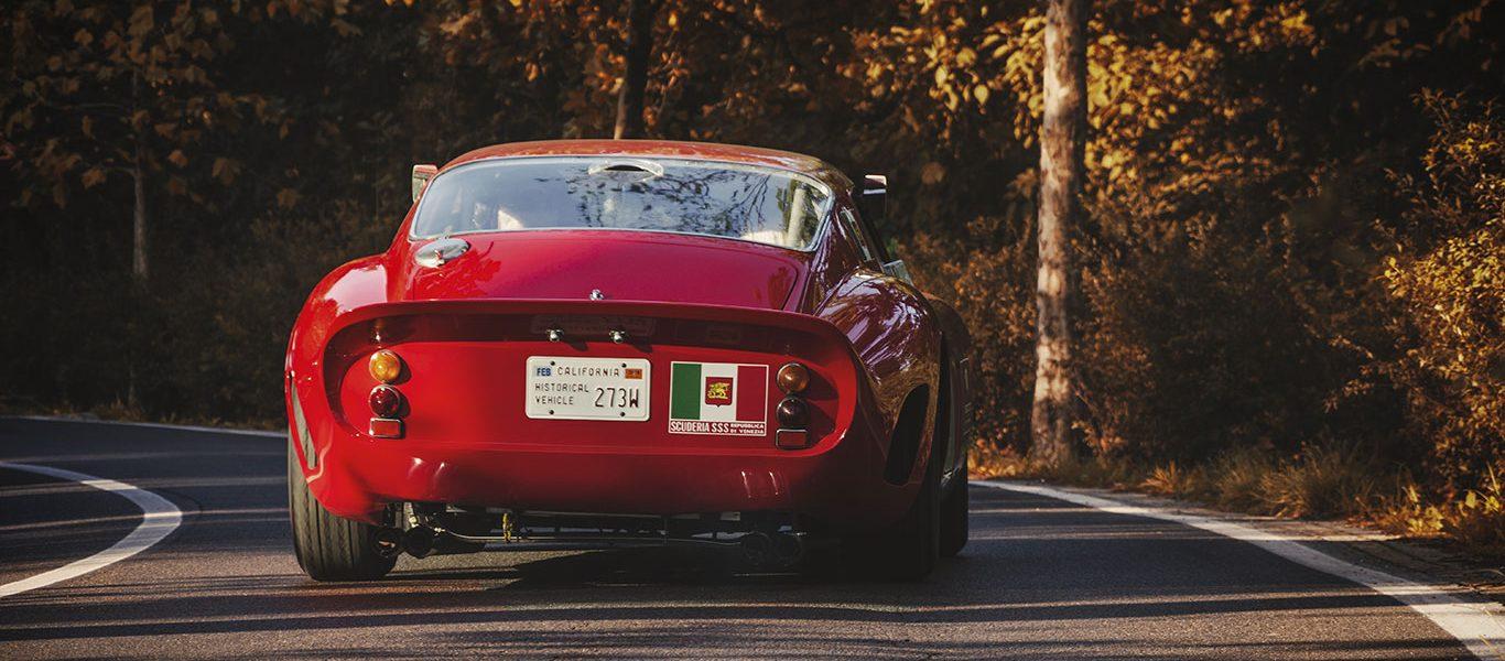 Incontrare una mandria di Ferrari 250 GTO può cambiarvi la vita