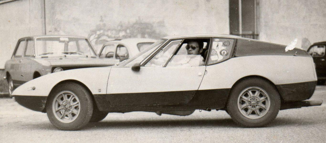 La 850 Grand Prix Francis Lombardi era l'auto giusta per un Aviatore