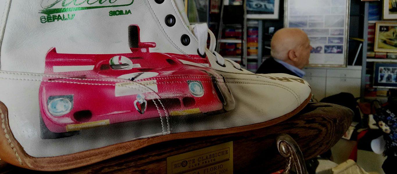 I vostri articoli: Ciccio di Cefalù – L'Artista delle Scarpe da Corsa
