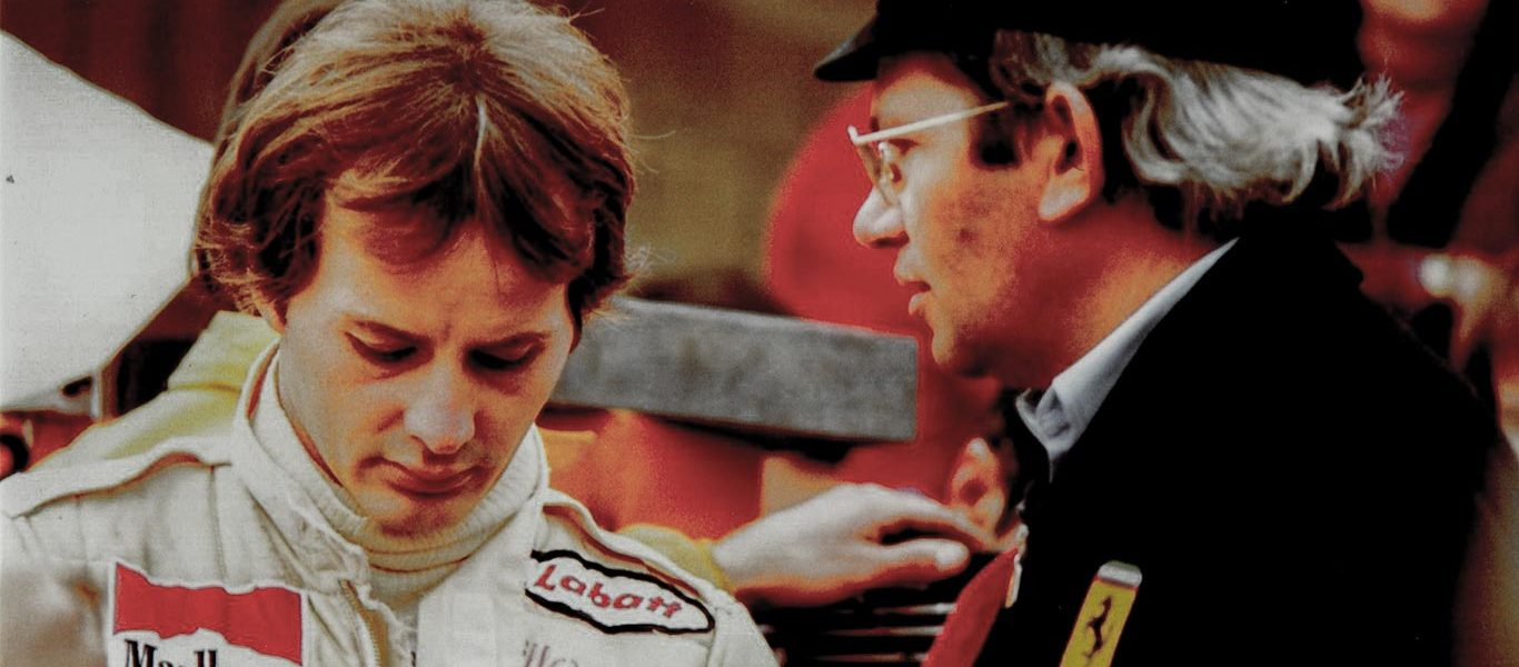 Tomaini Racconta: Gli anni di Regazzoni, Lauda e Villeneuve in Ferrari