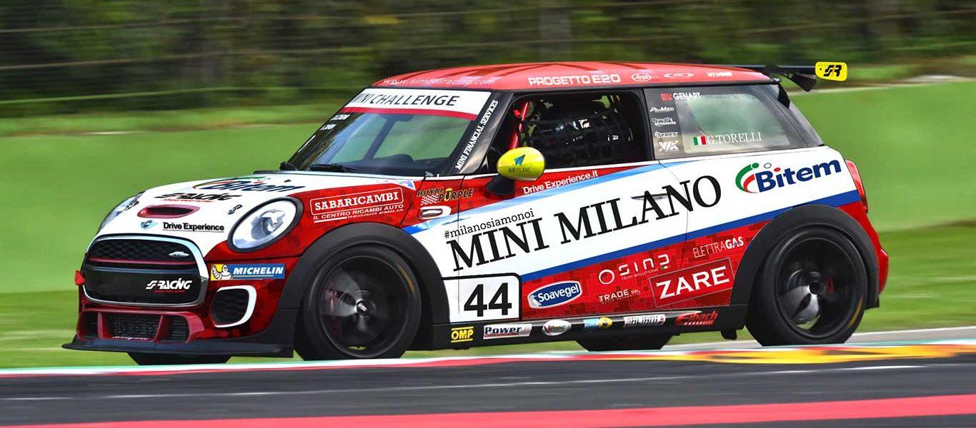 DriveExperience.it sarà sponsor di G.Torelli nel Mini Challenge 2018