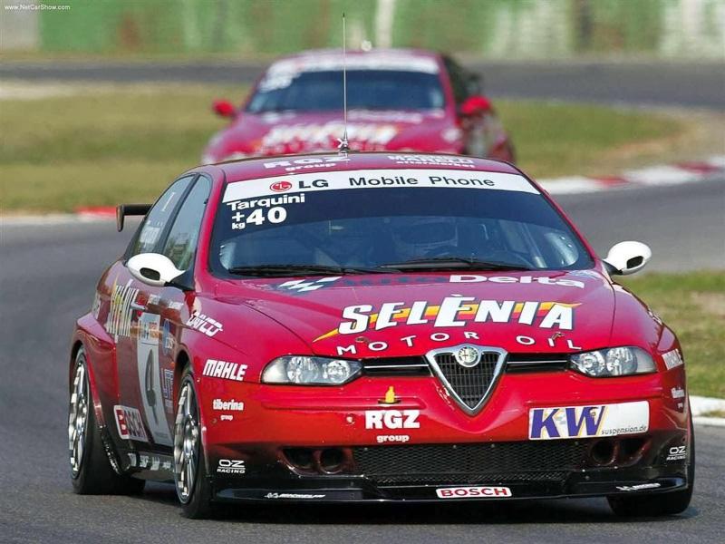 GABRIELE TARQUINI ALFA ROMEO 156 2003 ETCC