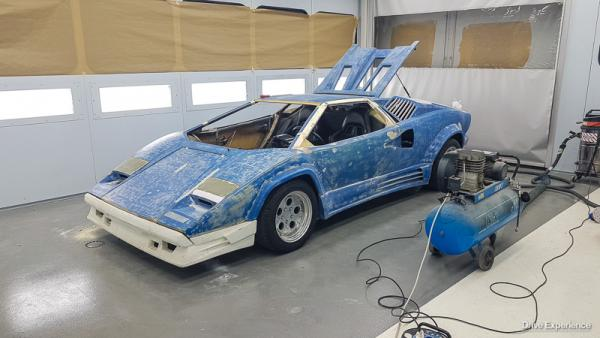 Lamborghini Countach Replica V6 Turbo (10° parte)-3